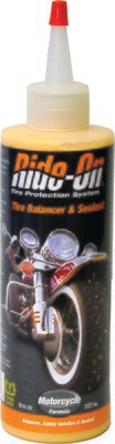 Ride-On Tire Sealant & Balancer 8 OZ