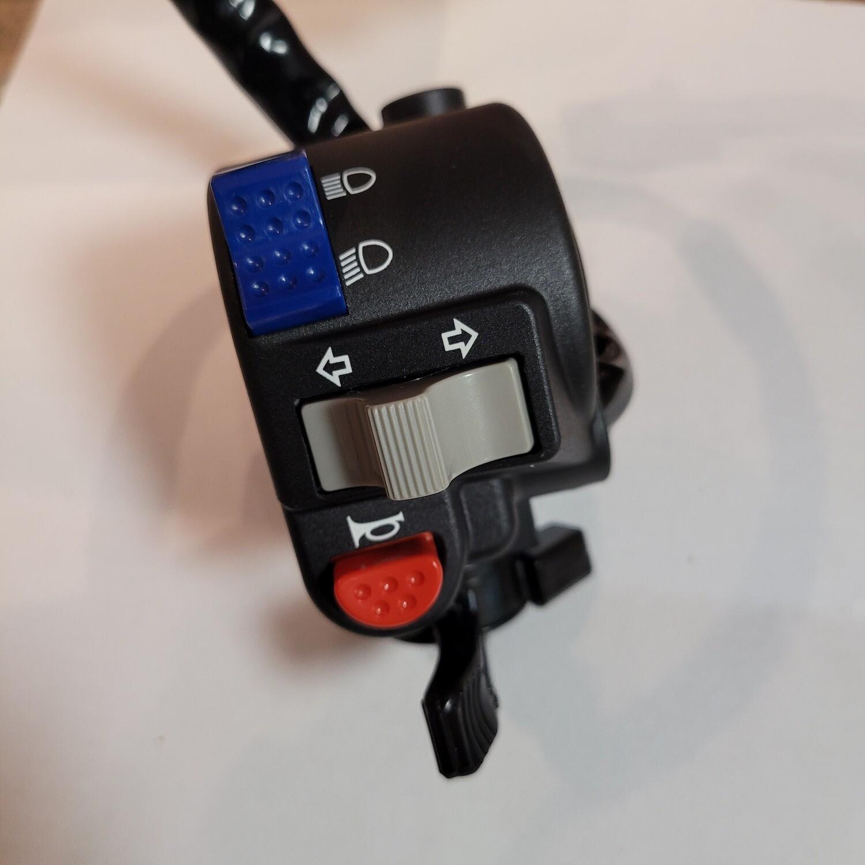 Left Side Switch Assembly OEM # 46091-1791 KLR650 1987-2007