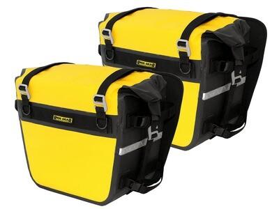 Nelson Rigg Sierra Dry Saddlebags - Yellow/Black