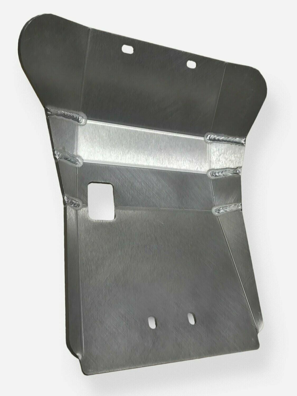 87-21 Yamaha TW200 Ricochet Aluminum Skid Plate - Silver
