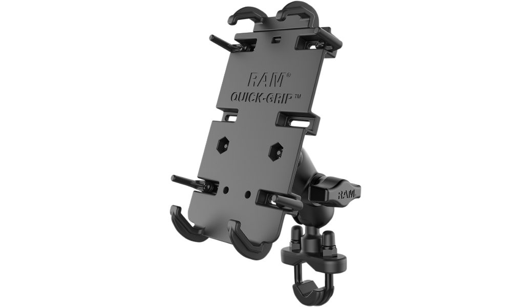 RAM Quick Grip XL Phone Mount with U-Bolt Base RAM-B-149ZA-PD4