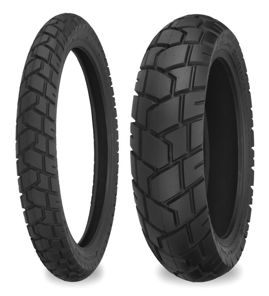Shinko 705 Tire Set ( 130/80-17 & 90/90-21)