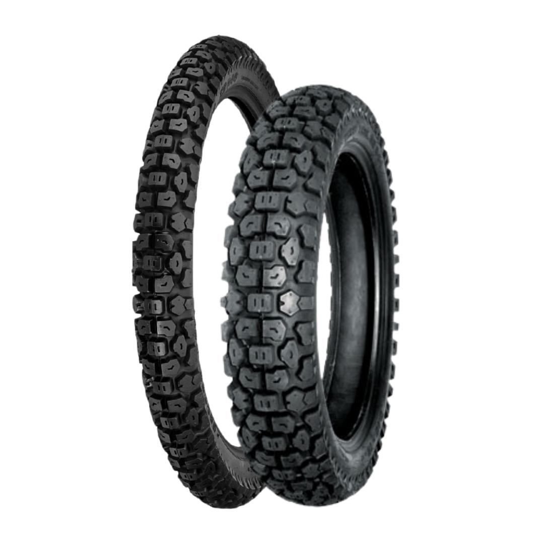 Shinko 244 Tire Set (5.10x17 & 2.75x21)