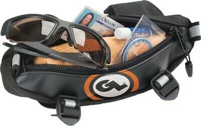 Giant Loop Zig Zag Handlebar Bag Black / Orange