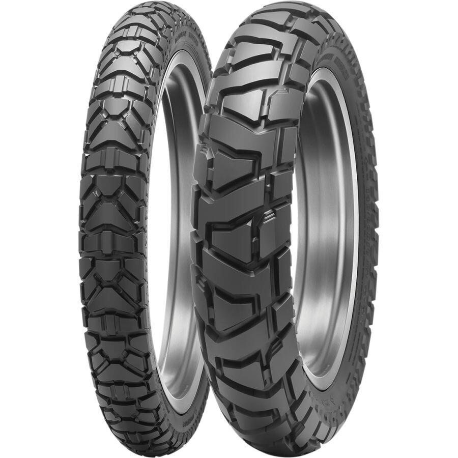Dunlop Trailmax Mission Front & Rear Tire Set (130/80-17 & 90/90-21)