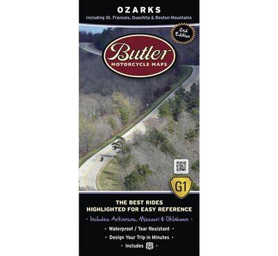 Butler Maps G1 Series Map - Ozarks