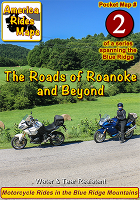 #2 The Roads Of Roanoke and Beyond - Pocket Map