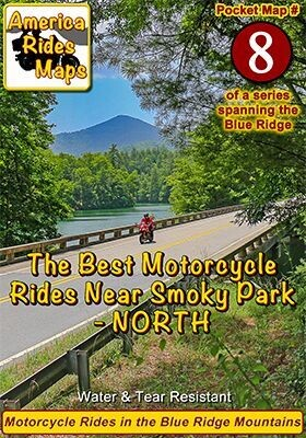 #8 Best Rides NORTH of Smoky Park - Pocket Map