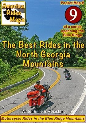 #9 The Best Rides in the North Georgia Mountains - Pocket Map