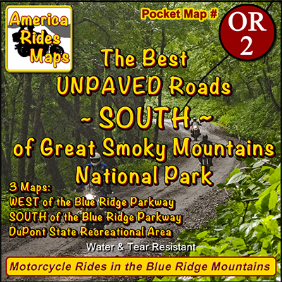 The Best Unpaved Roads SOUTH of Smoky Park OR2 - Map