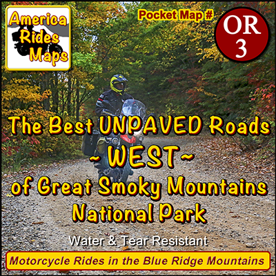 The Best UNPAVED roads WEST of Smoky Park OR3 - Map