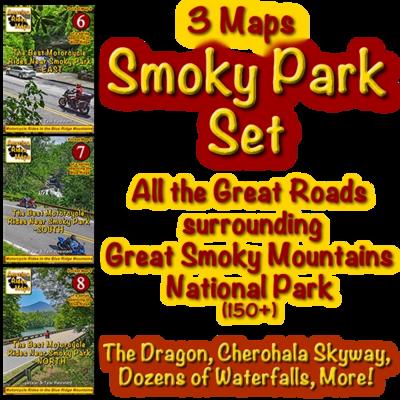 Smoky Park Series - 3 Map Set