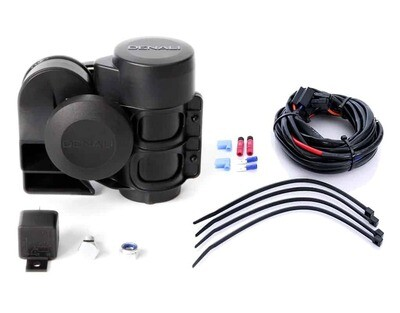 Denali SoundBomb™ Original Dual-Tone Air Horn with Wiring Harness