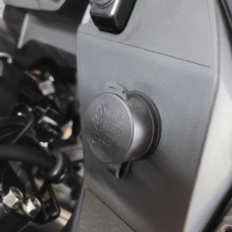 12 Volt DC Power Outlet & Relay Kit (Plug & Play) KLR650 2022+