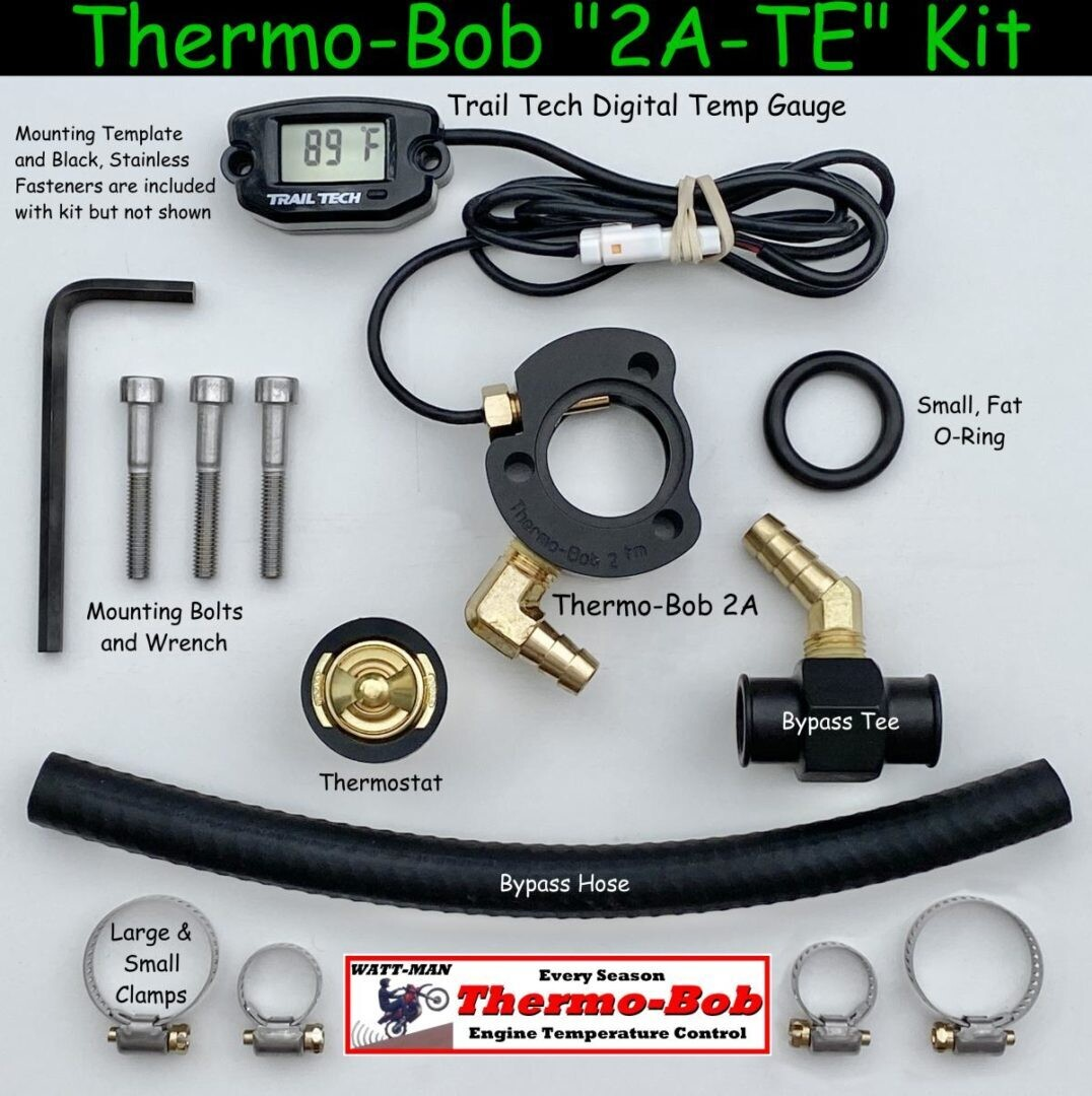 Watt-Man TB2A-TE Thermo-Bob & Temp Gauge Kit KLR650 2022+