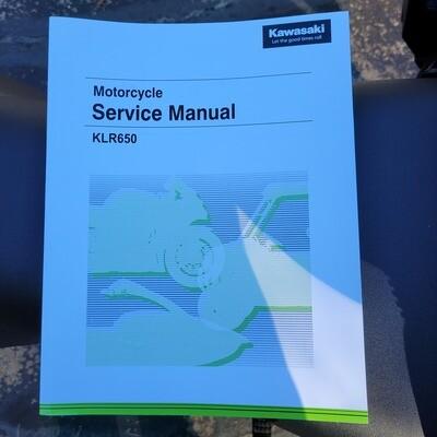 2022+ Kawasaki KLR650 Factory Service Manual