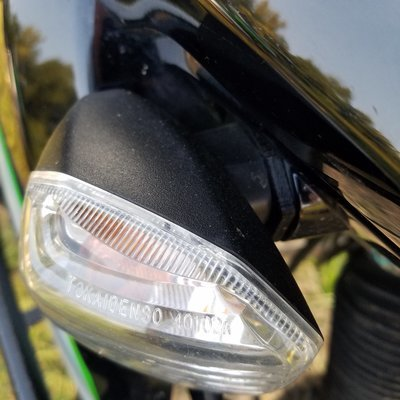 2008+ KLR 650 Turn Signal Repair - Stalk Delete Kit - Blinker Fix (NEW Easy Install Version)