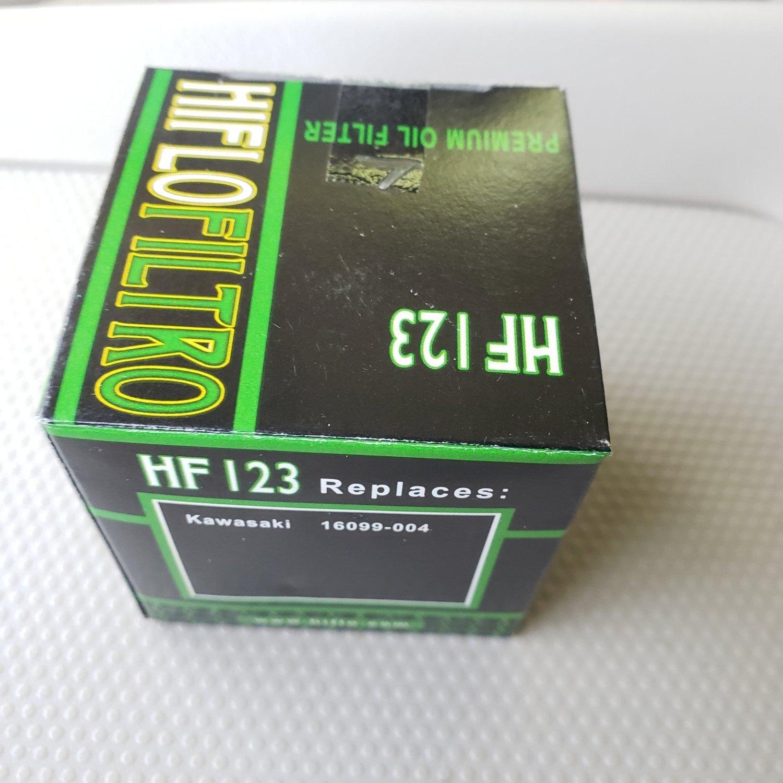 Hiflo Filtro HF123 Oil Filter - KLR 650
