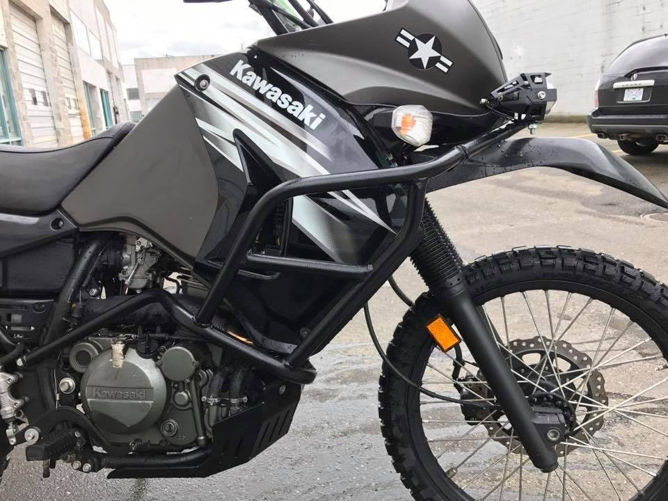 DirtRacks 2008-2018 Kawasaki KLR 650 Full Body Engine Crash Bars