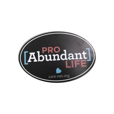 Pro Abundant Life Magnet