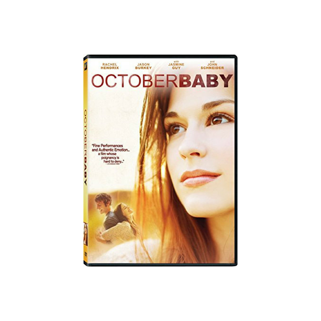October Baby DVD or BluRay