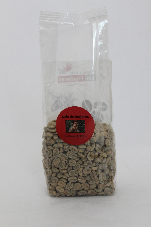 CAFE DE MUJERES - Frauenkaffee BIO Rohkaffee (grüner Kaffee), 200 gr