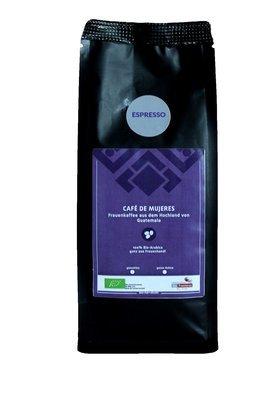 Frauenkaffee ESPRESSO - Café de Mujeres BIO, 250 gr GEMAHLEN