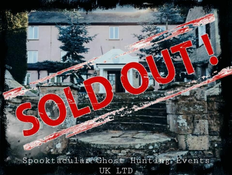 SOLD OUT! Howling Hill House Weekend - Ross- On - Wye- All Inclusive- 09/10/2020-11/10/2020- £139 P/P