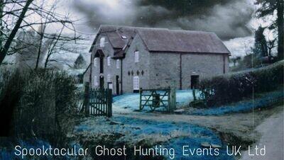 Clun Mill Paranormal / Tarot Weekend - 15/01/2021- 16/01/2021- £100 P/P