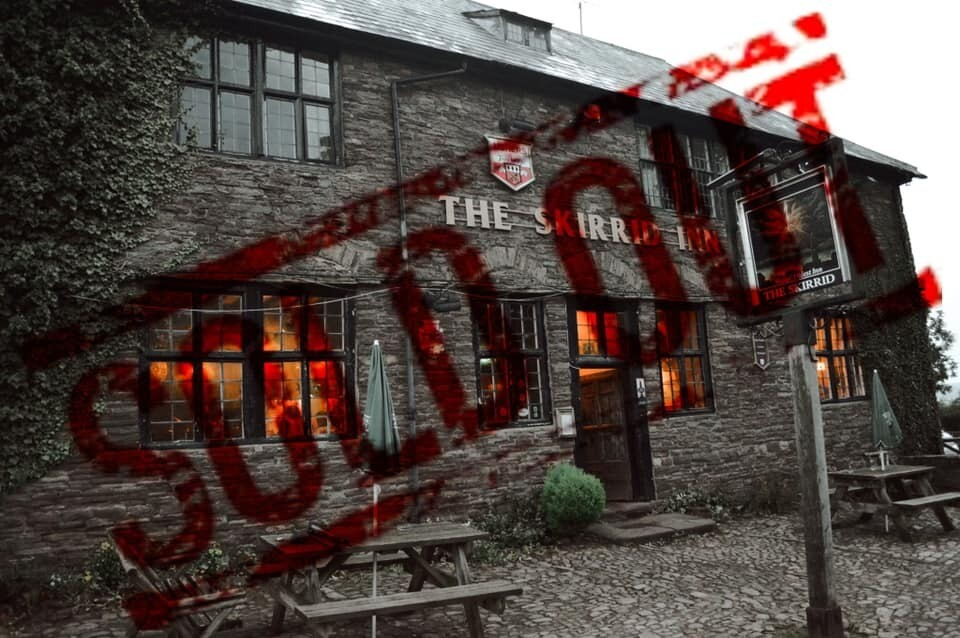 SOLD OUT! The Skirrid Inn Ghost Hunt Supper - 27/02/2021- £55 P/P