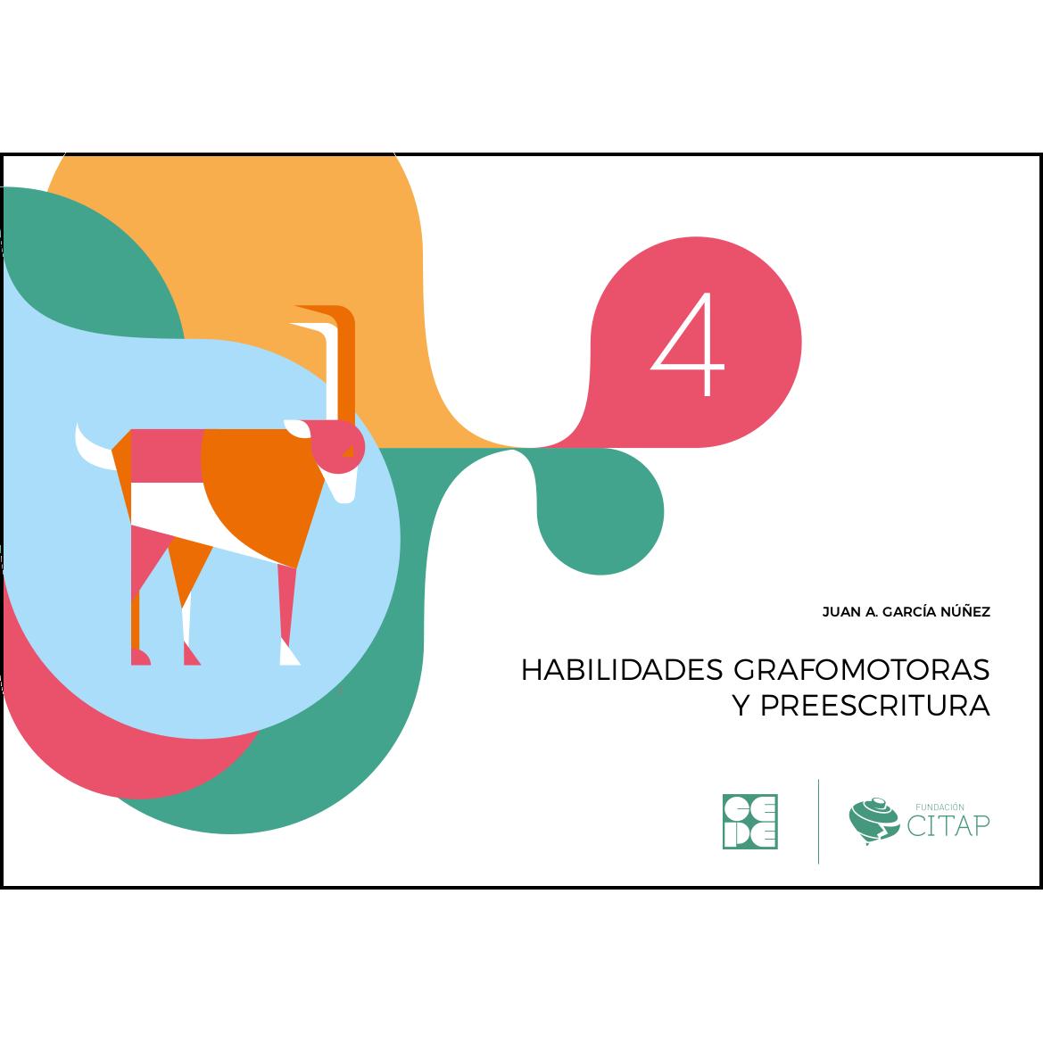 Habilidades grafomotoras y preescritura 4 978-84-1694-154-4