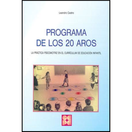 Programa de los 20 aros 978-84-7869-210-1