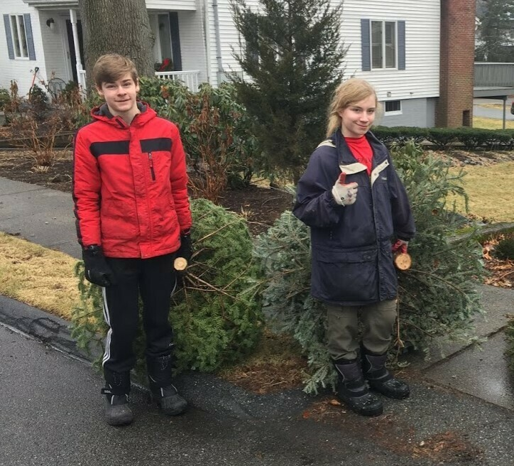 Troop 507 - Tree Pickup