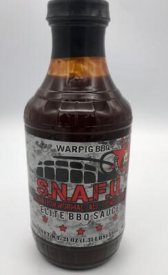 SNAFU Elite BBQ Sauce