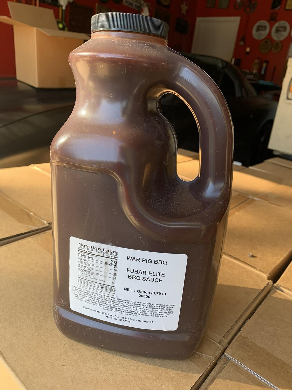 F.U.B.A.R Elite BBQ Sauce Gallon Jug