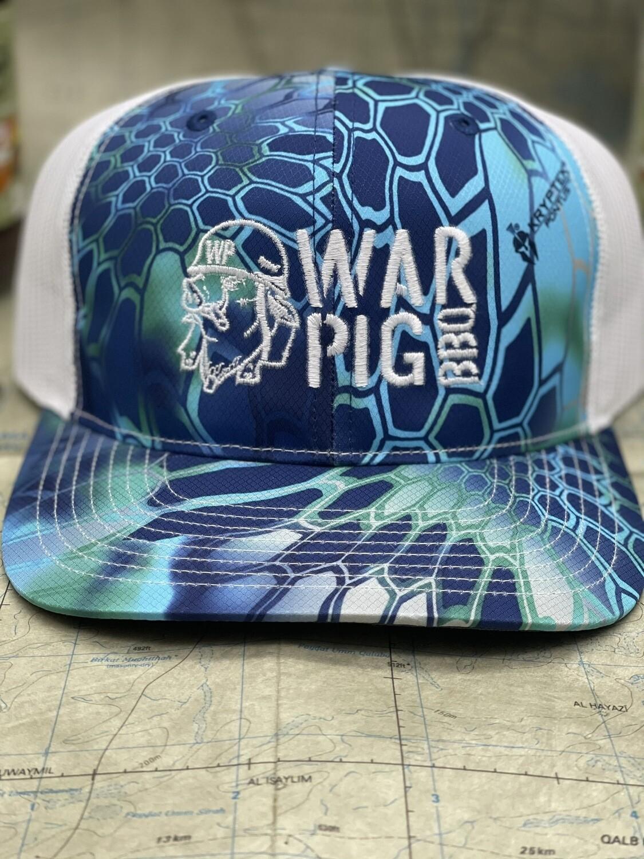 WarPig Blue Trucker Hat