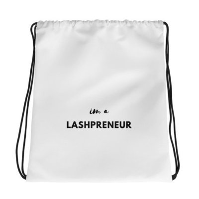 Drawstring bag: Lashpreneur