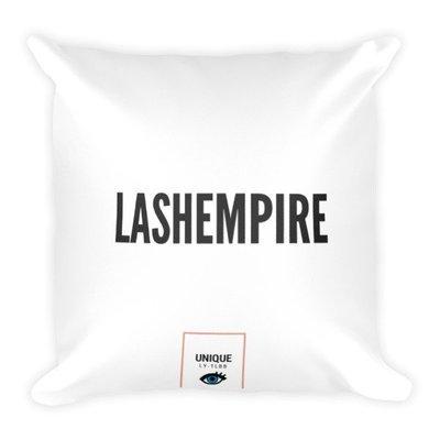Square Pillow: Lash Empire