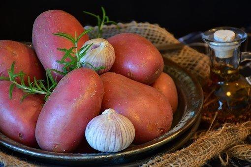 Patates rouges bio