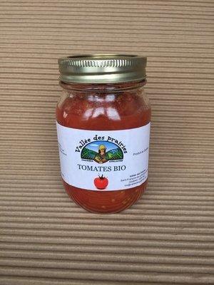 Tomates en conserve bio