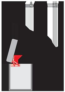 Механизм подъема для пуфа PC 025-1 с пружиной