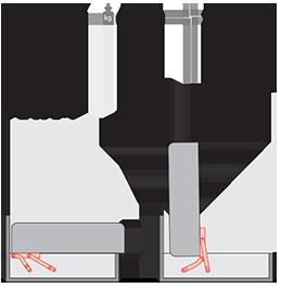 Механизм подъема для пуфа PC 078-1