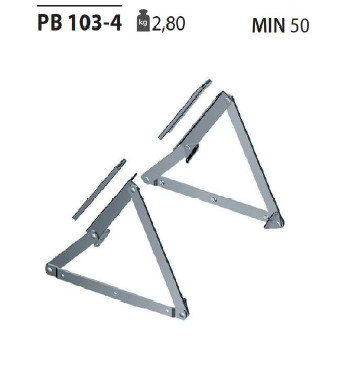 Механизм подъема для оттоманки PB 103-4