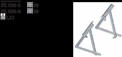 Механизм подъема для оттоманки PL 134-4