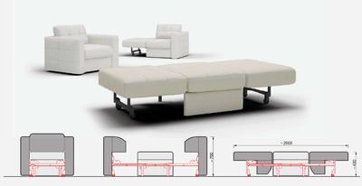 Механизм кресло-кровать WU 200-B-5