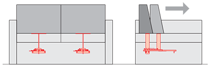 Спинка PC 072-1