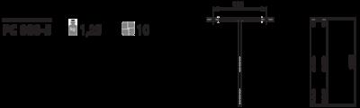 Спинка PC 080-5