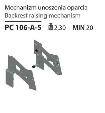 Спинка PC 106-A-5