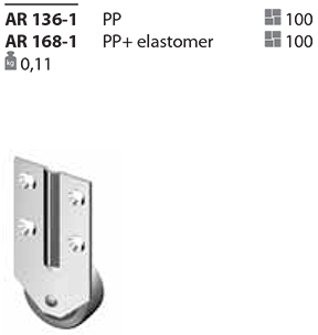 Ролик AR 136-1