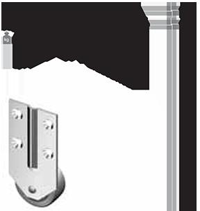 Ролик AR 168-1
